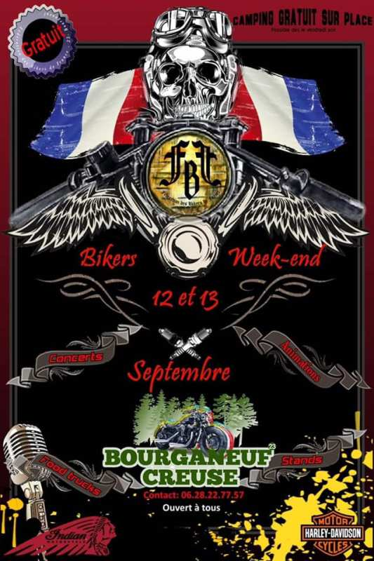 Bikers Week-End Bourganeuf