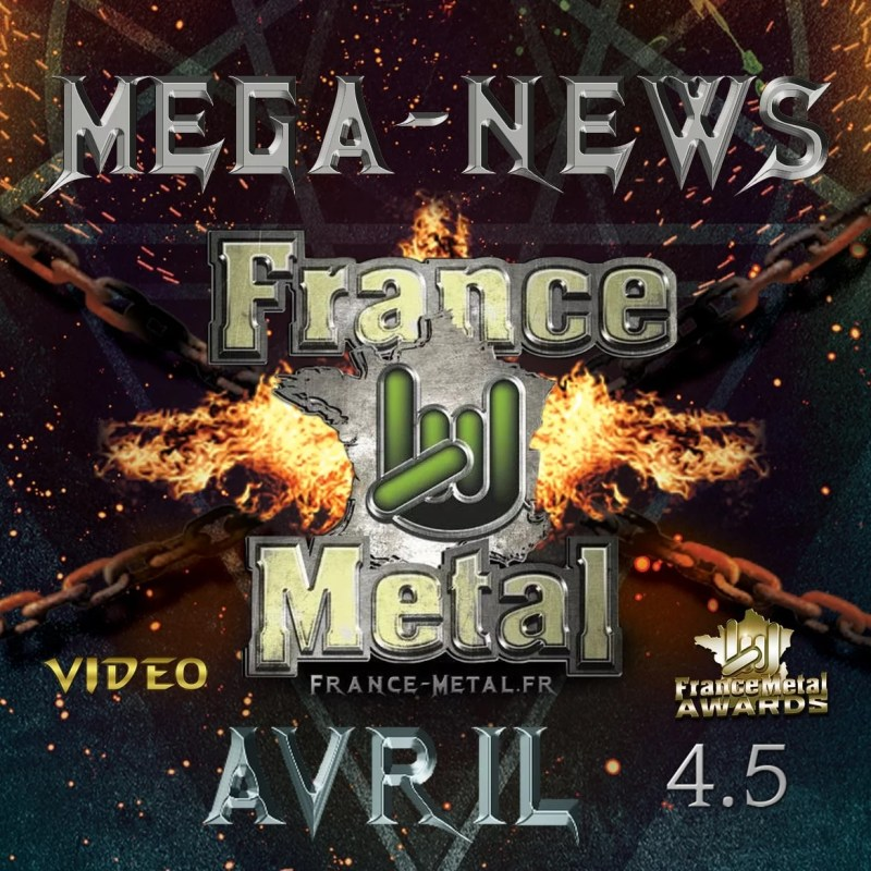 Audio 4.5 - Avril 2020 - Mega News France Metal
