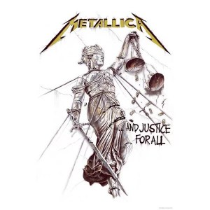 Drapeau Metallica And Justice For All