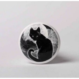 bouchon chat noir