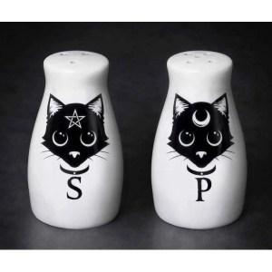 Salière et Poivrière Chat Noir