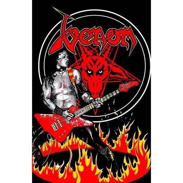 Drapeau Venom Cronos In Flames