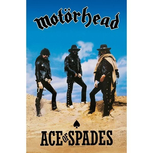 Drapeau Motorhead Ace Of Spades