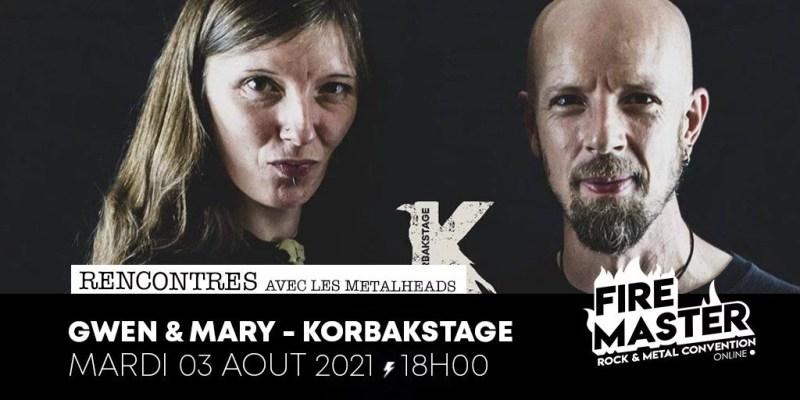REPLAY À 18H KorbakStage