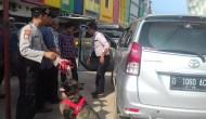 Permalink ke Turunkan Anjing Pelacak, Kendaraan Masuk Palembang Diperiksa Polisi