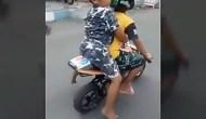 Permalink to Biker Cilik Viral Dikasih Hadiah oleh Polisi