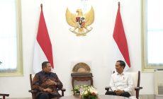 Permalink to Bahas Masalah Kebangsaan, Presiden Jokowi Terima SBY