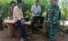 Permalink to Bapak Rofiq Senang di Bangunnya Jalan Usaha Tani oleh Satgas TMMD