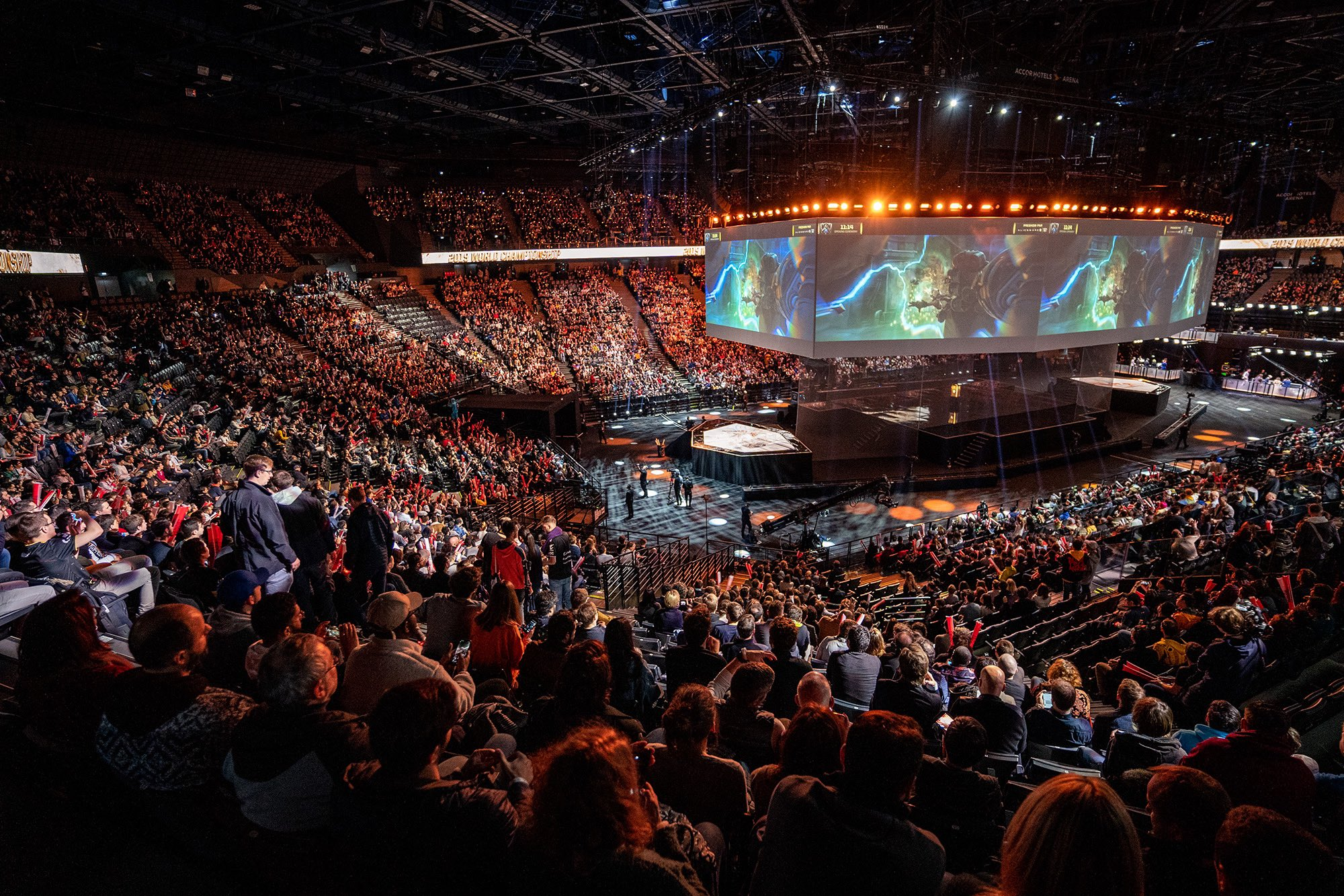 The Growth Of Esports - LoL Worlds 2019 Finals