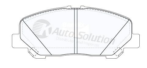 Toyota Estima ACR 50 Tarago GSR50 Vellfire MPV Front Brake