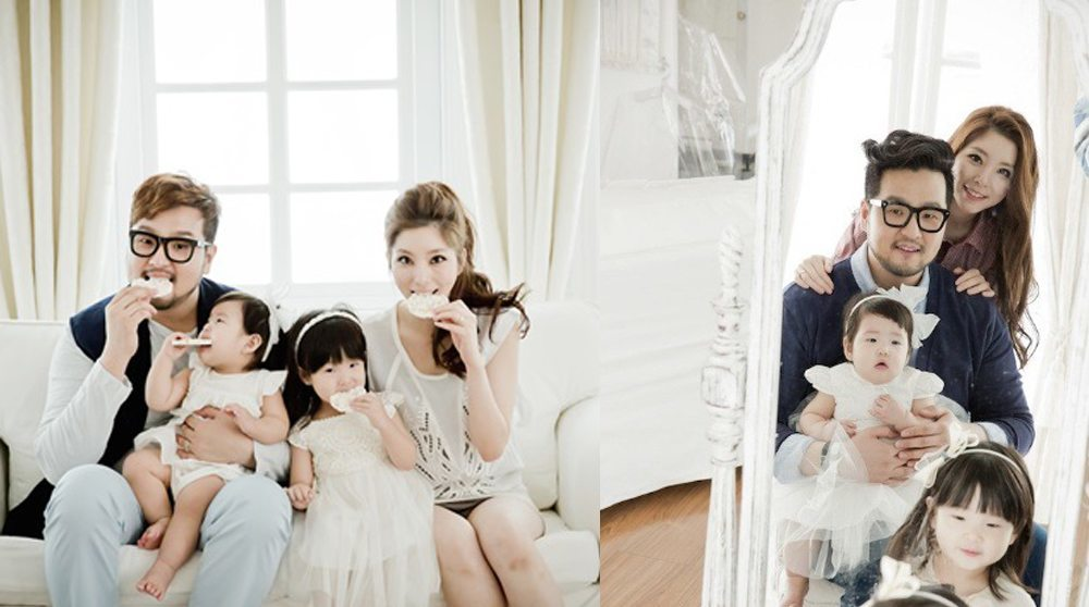 Kim Tae Woo and family