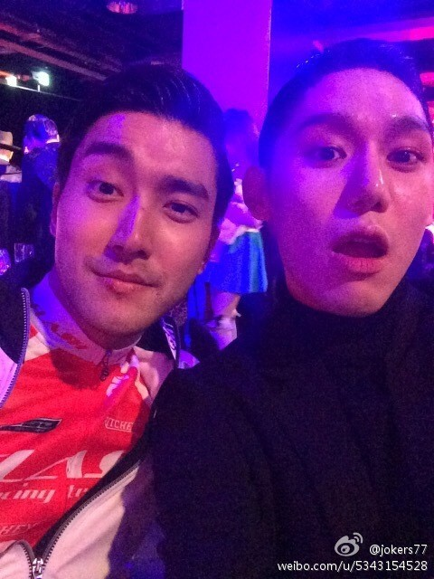 Siwon at SM Halloween Party 2014