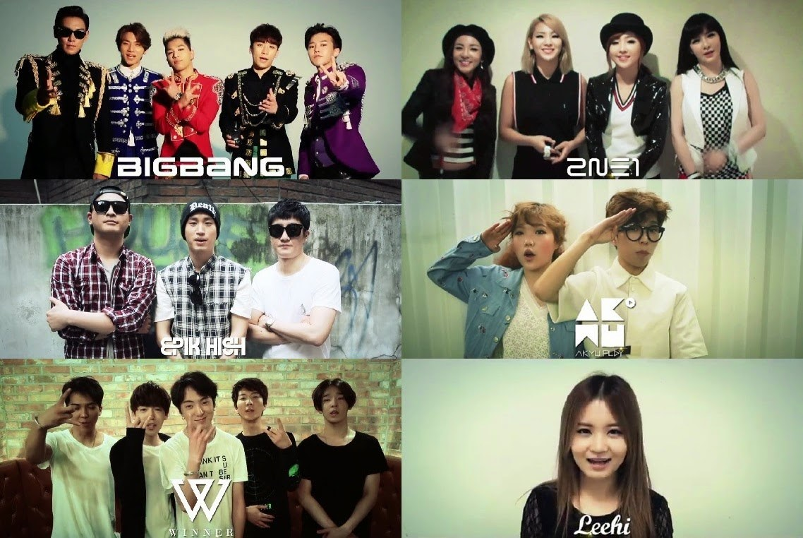 K:OP-ED] YG Entertainment dominates 2014 with artist ...