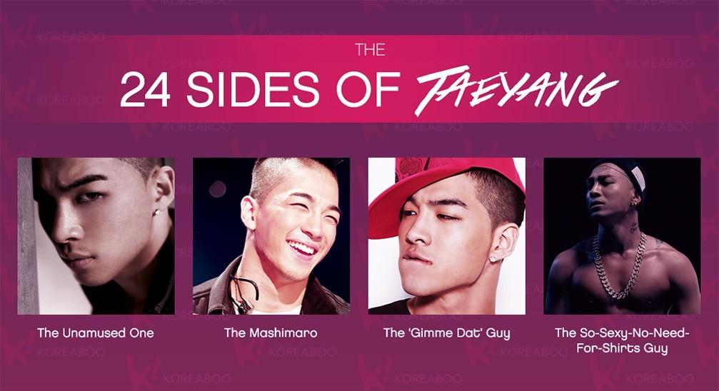 Koreaboo.com: 24 Amazing Sides of Taeyang You'll Love