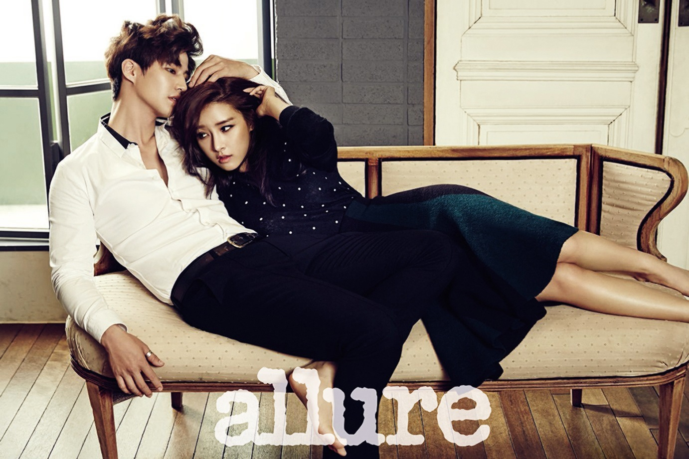 Kim So Eun and Song Jae Rim