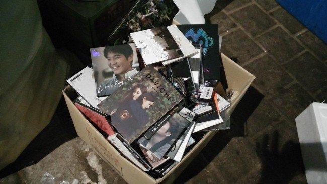 Trashed CDs 1