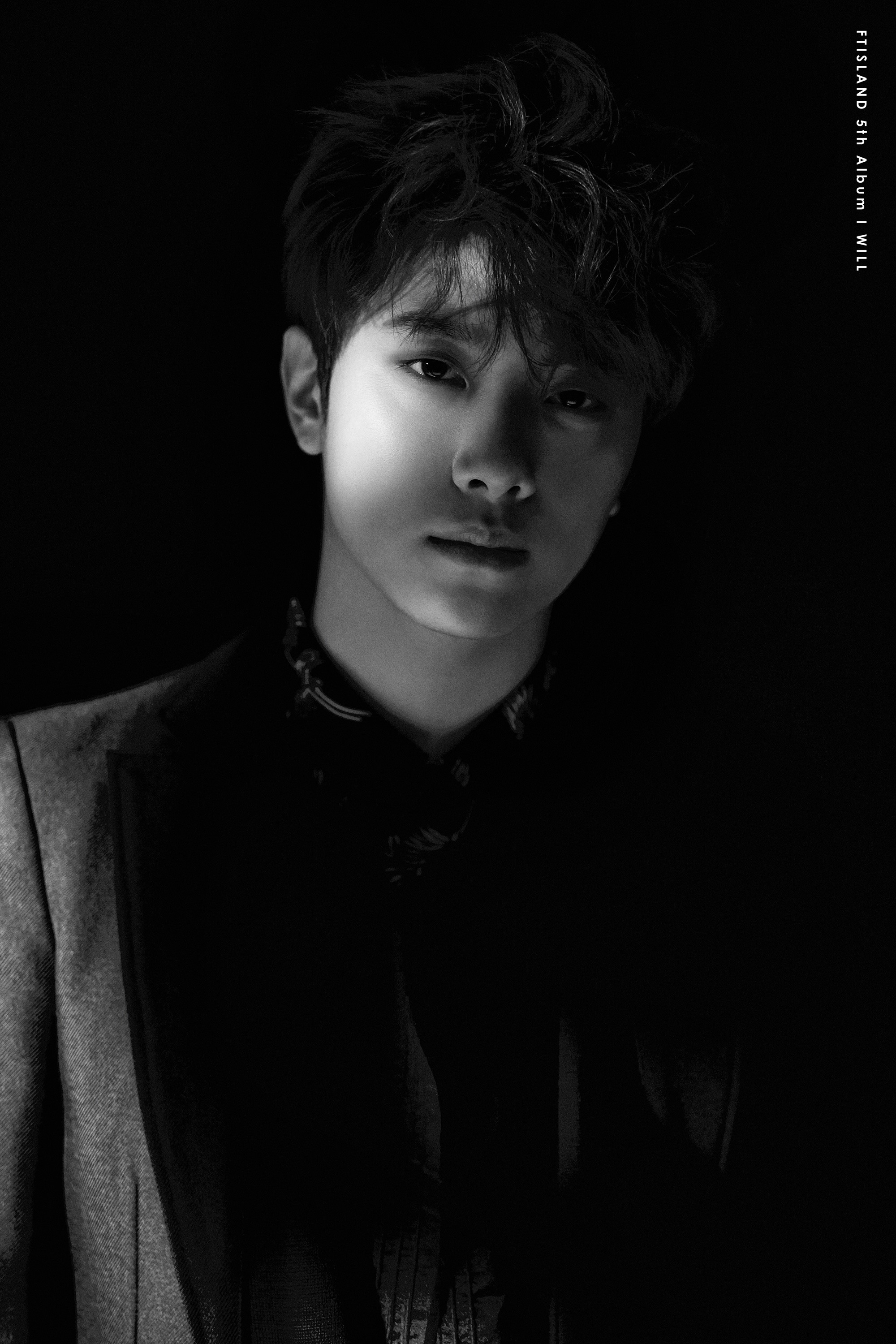 "FTISLAND whispers ""I Will"" from the shadows in new jacket images"