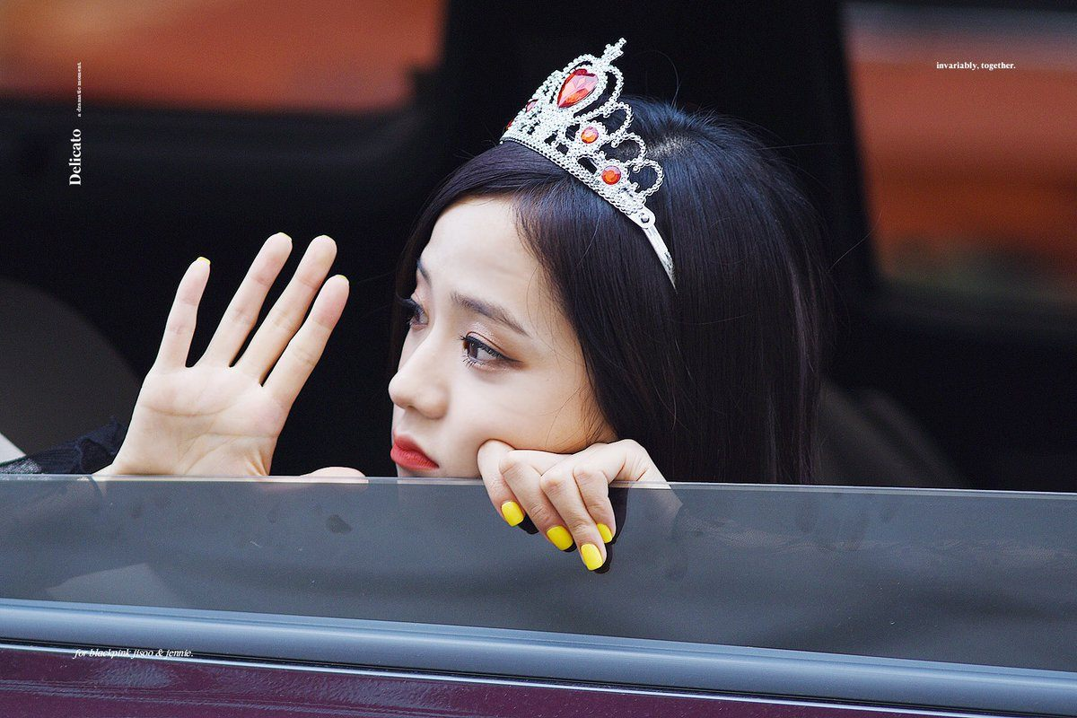 Wallpaper Girl Band Korea Blackpink S Jisoo Spotted Wearing This Ridiculously Cute