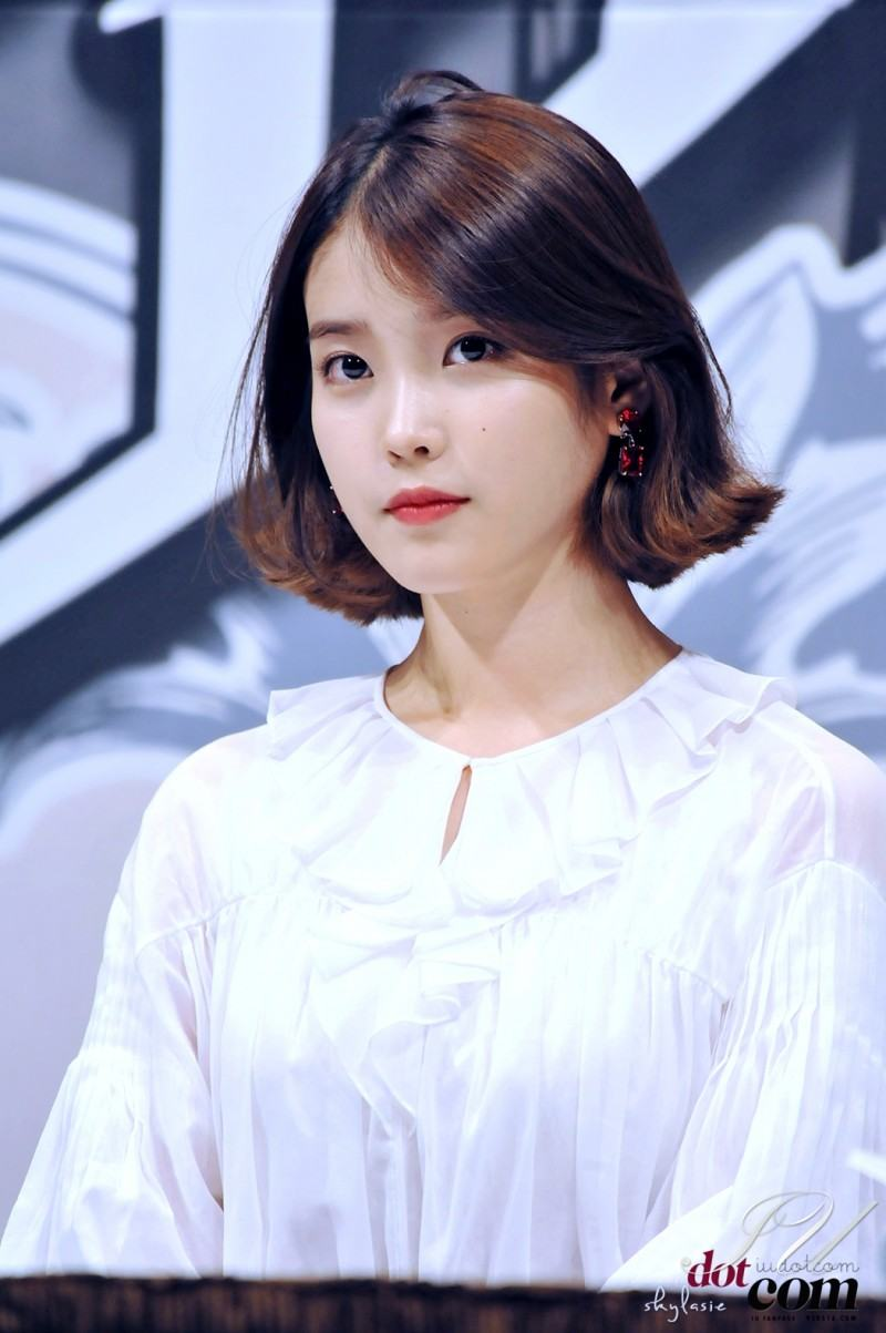 These Pictures Prove IU Has Perfected The Short Hair Style  Koreaboo