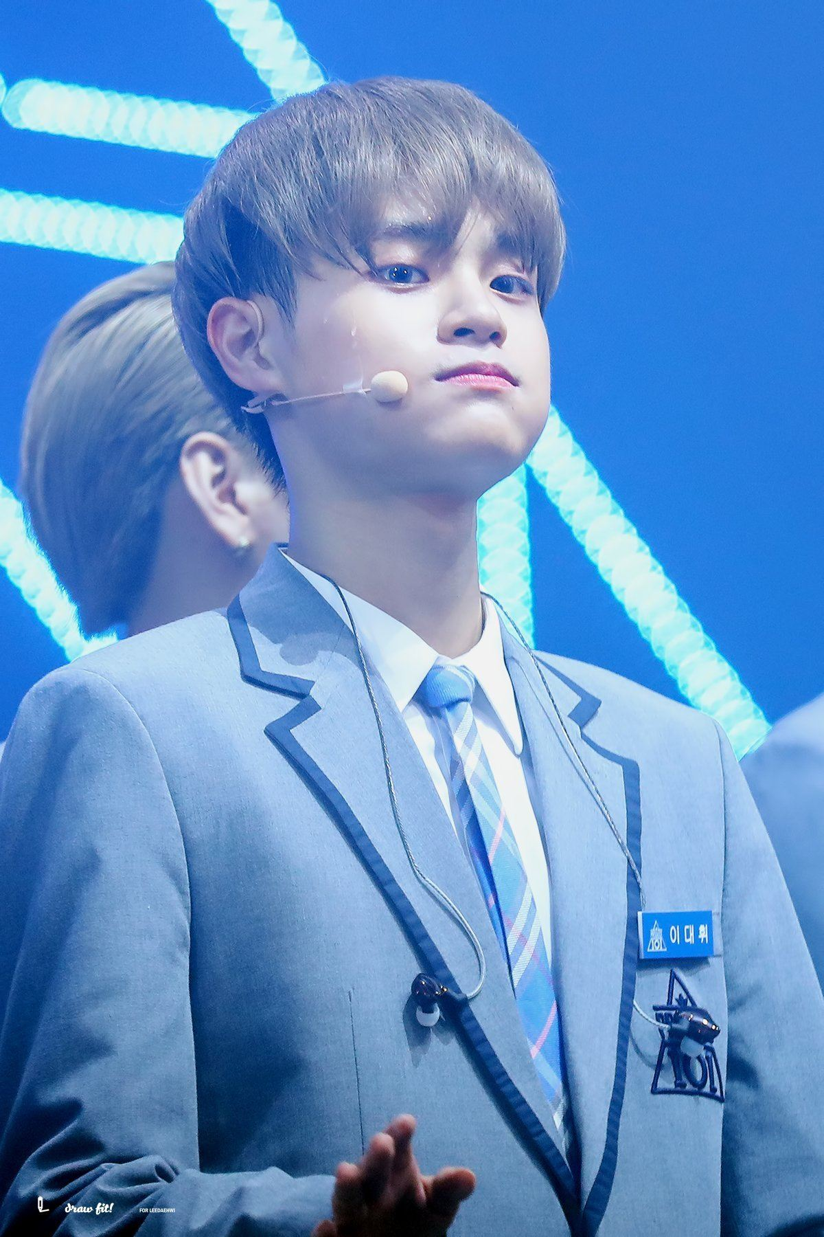Cute Baby Blue Wallpapers 9 Photos That Prove Wanna One Daehwi Is Actually An Otter