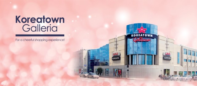 The new website of Koreatown Galleria. [Image in courtesy of KoreatownGalleria.com]