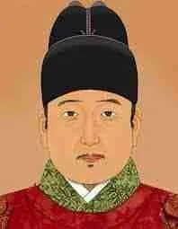 Prince Suyang--after he succeeded in killing his nephew and became King Sejo