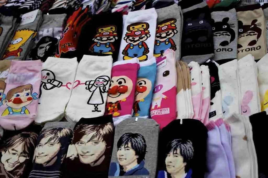 What to buy in Korea? Korean souvenirs: Gangnam Style Socks