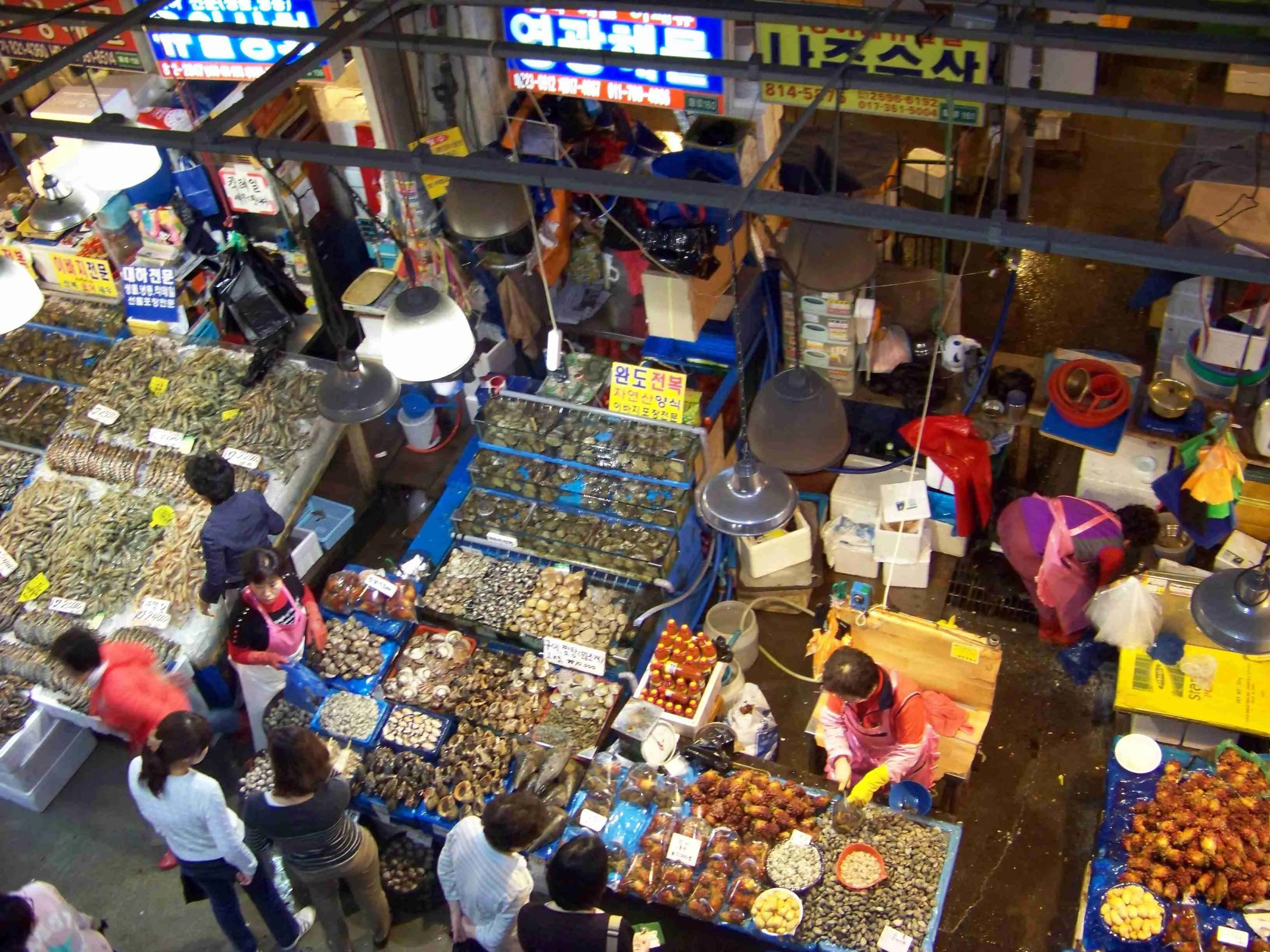 The New Guide to Noryangjin Fish Market