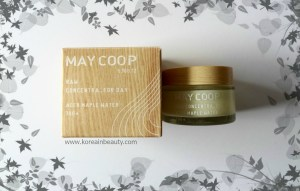 May Coop Raw Concentra Day Cream Review