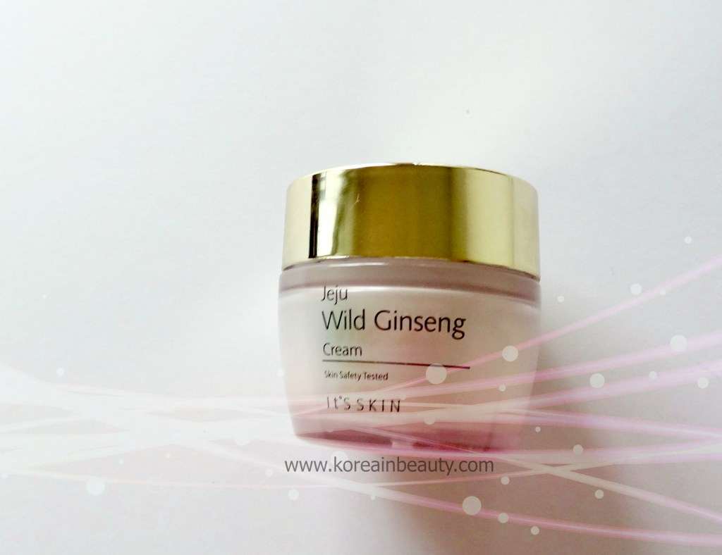 Jeju Wild Ginseng It's skin review
