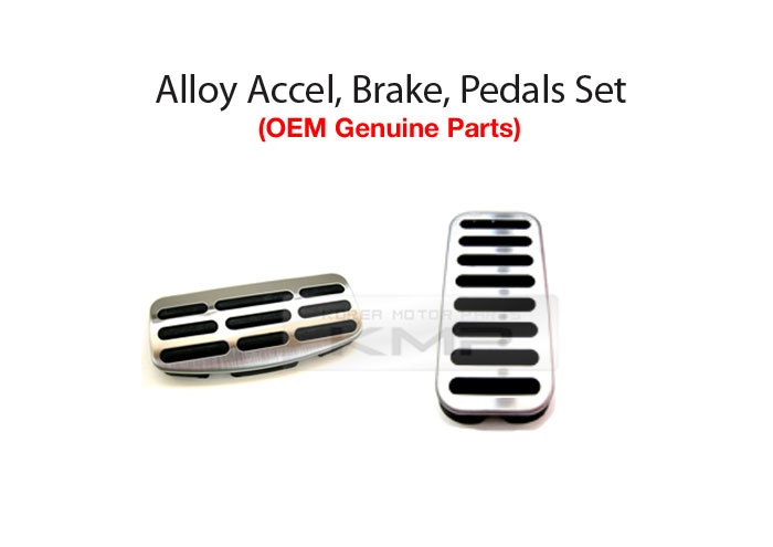 OEM Alloy Accelerator Brake Foot Rest Pedal For KIA 2010