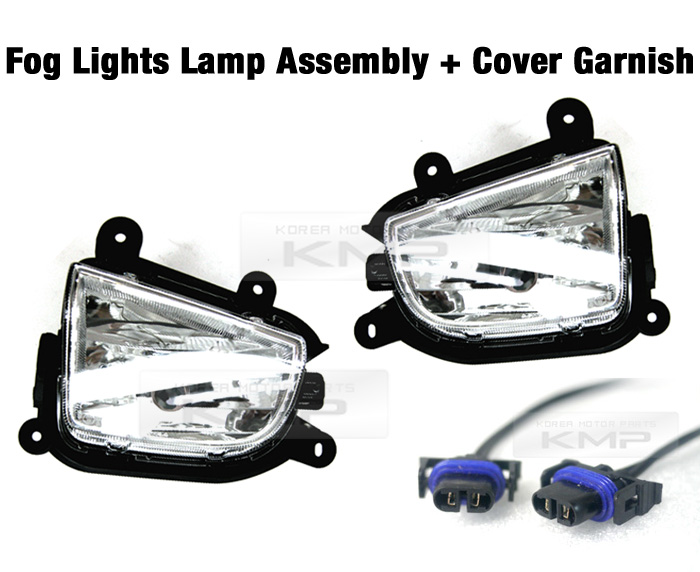OEM Genuine Parts Fog Light LAMP Cover SETS For KIA 2010
