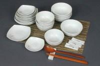Korean Dinnerware Set & Portable Travel Wooden Dinnerware ...