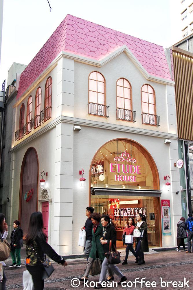 cosmétiques coréens : Etude house