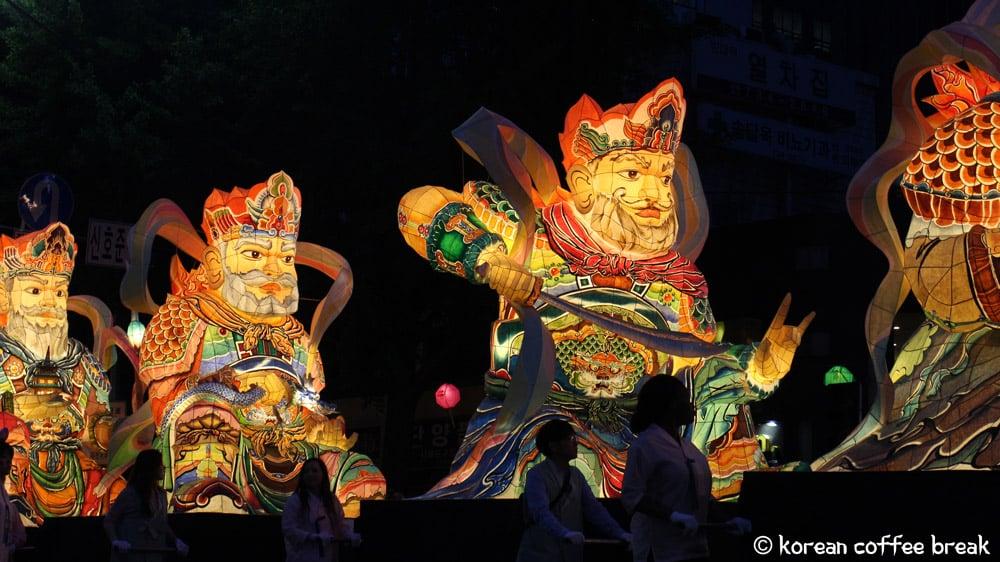 festivals printaniers incontournables en Corée :  Festival des lanternes Séoul