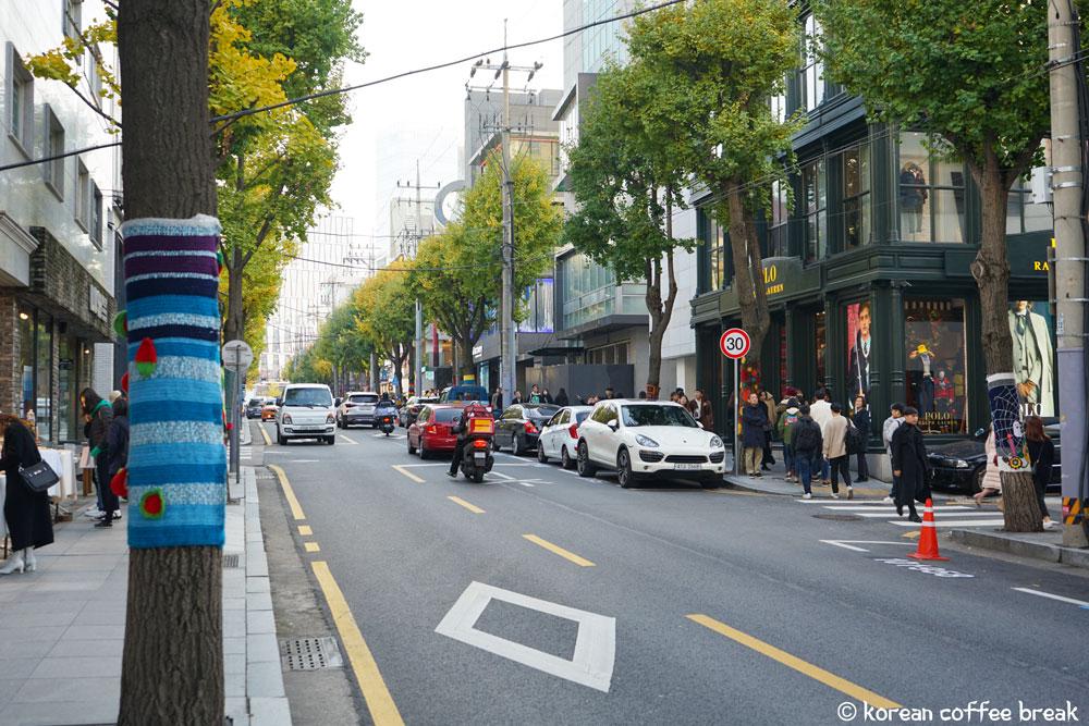 Quartier de Sinsa-dong