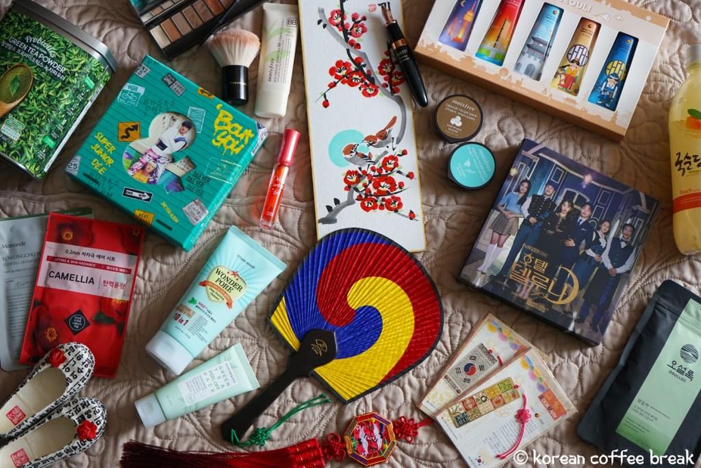 meilleurs souvenirs de Corée du Sud