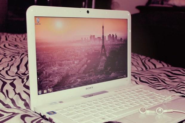 vaio white mac