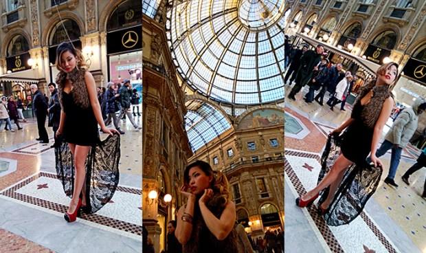 Angela Ricardo model fashion blogger nokia lumia 920