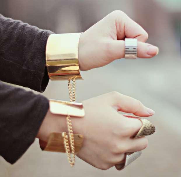 cuff link slave bracelet