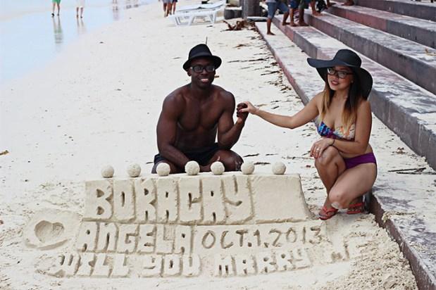 Angela Ricardo, Derek Bethea Marriage Proposal, Engagement