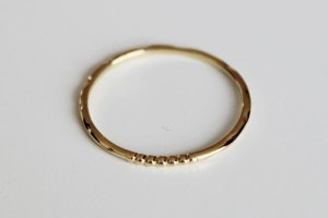 Lagos Covet Gold Stacking Ring