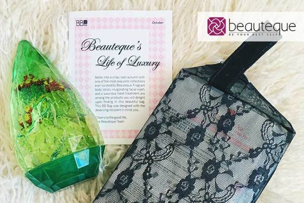 Beauteque October BB Bag