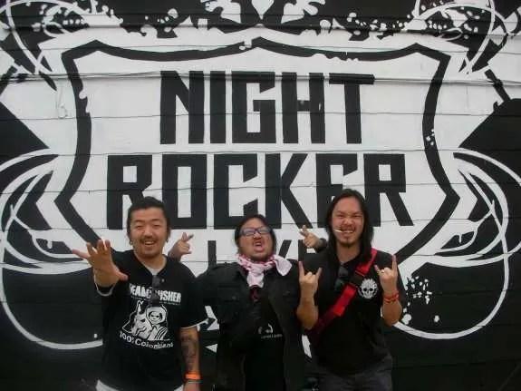 Outside of Night Rocker Live in San Antonio on 3/20