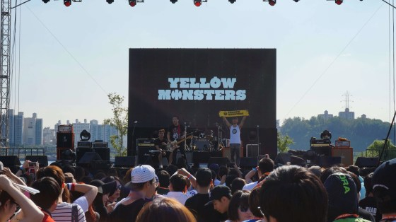 Yellow Monsters Let's Rock 2014