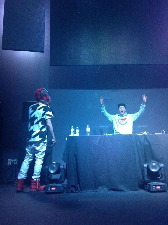 Jay Park and DJ Pumpkin