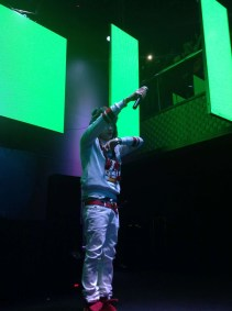 Jay Park in green
