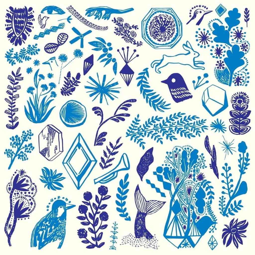 cranfield blue painting
