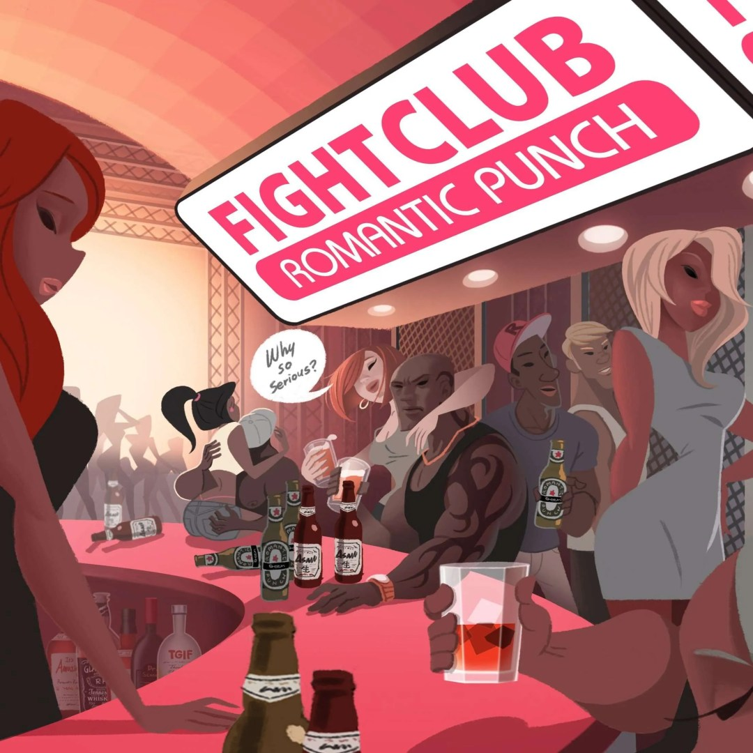 romanitic punch fight club