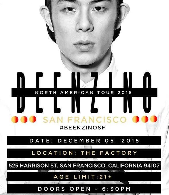 Beenzino North American Tour 2015 Tickets on Sale